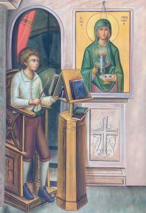 Η εμφάνιση της Αγίας Παρασκευής στον Άγιο γέροντα Ιάκωβο « Ι. Ν ...